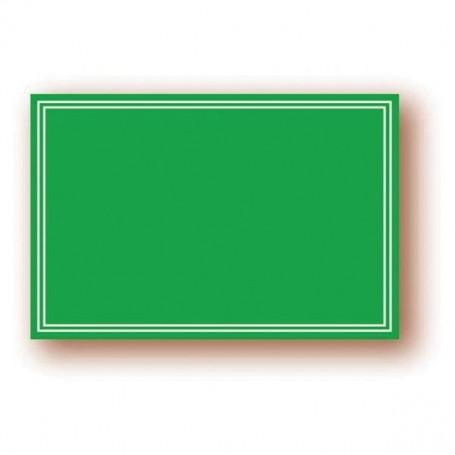 Paquet de 3 Pancartes Vertes « Ardoisine » 30x40 cm