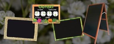 Panneaux / Pancartes / Tableaux pour fleuristes